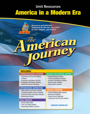 The American Journey, America in a Modern Era Resource Book