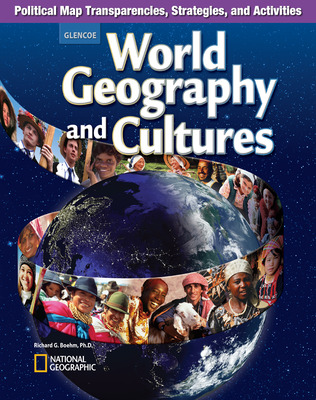 World Geography and Cultures, Political Map Transparencies, Strategies, and Activities
