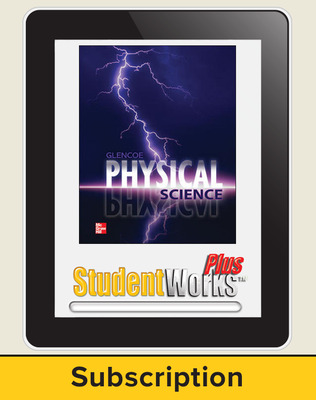 Glencoe Physical iScience, Grade 8, eStudent Edition, 1-year subscription