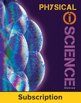 Glencoe Physical iScience, Grade 8, eTeacher Edition, 6-year subscription