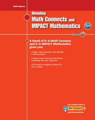 Blending Math Connects  and IMPACT Mathematics, Course 1