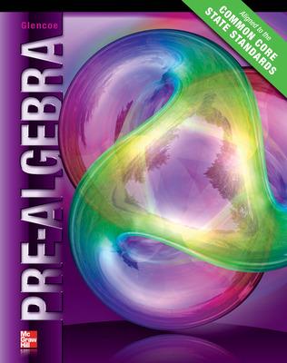 Glencoe Pre-Algebra © 2012