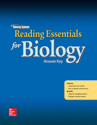 Glencoe Biology, Reading Essentials, Answer Key