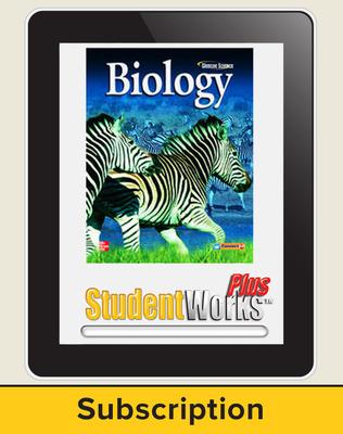 Glencoe Biology, eStudent Edition, 6-year subscription