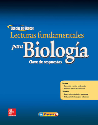 Glencoe Biology, Spanish Reading Essentials, Answer Key