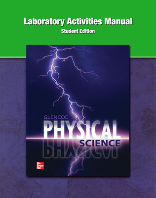 Physical Science, Laboratory Activities Manual, Student Edition