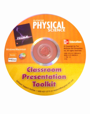 Physical Science, Classroom Presentation Toolkit CD-ROM
