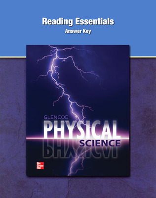 Glencoe Physical Science, Reading Essentials Answer Key