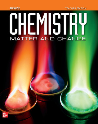 Chemistry: Matter & Change, eTeacher Edition, 6-year subscription
