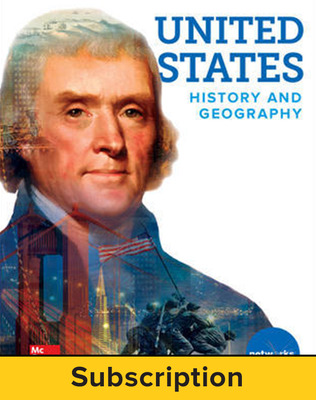 United States History and Geography, Student Learning Center, 7-year subscription
