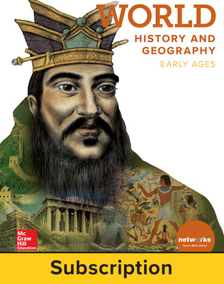 World History and Geography, Early Ages, Student Learning Center, 1-year subscription