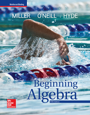 Miller, Beginning Algebra, 2018, 5e, Student Bundle (Student Edition with ConnectED eBook), 6-year subscription