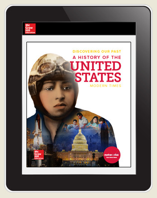 Discovering Our Past: A History of the United States, Modern Times, Teacher Lesson Center, 6-year subscription