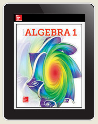 Glencoe Algebra 1 2018, Student Bundle w ISG (1-1-1), 1-year subscription