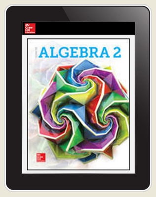 Glencoe Algebra 2 2018, Student Bundle w ISG (1-1-1), 1-year subscription