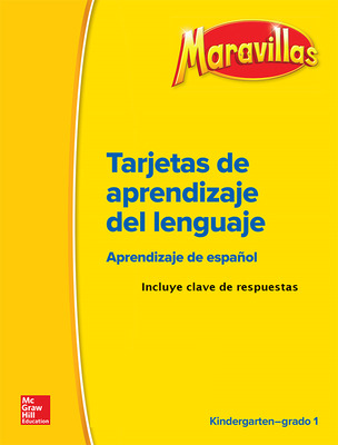 Maravillas Grades K-1 Language Development BLMs