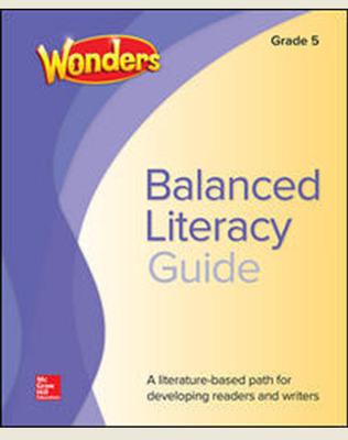 Wonders Balanced Literacy Grade 5 Unit 3 Student Edition