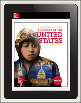 Discovering Our Past: A History of the United States, Modern Times, Student Suite Bundle, 7-year subscription