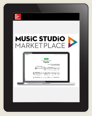 Music Studio Marketplace, Hal Leonard Levels 3-4: Mixed Concert Choral Music, 6-year Hybrid Bundle subscription