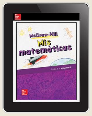 McGraw-Hill My Math, Grade 5, Spanish Student Center 1 Year Subscription