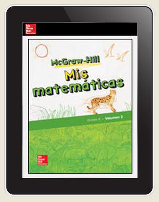 McGraw-Hill My Math, Grade 4, Spanish Student Center 6 Year Subscription