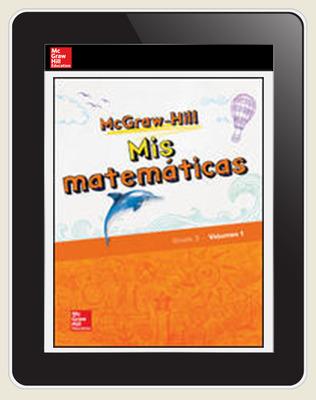 McGraw-Hill My Math, Grade 3, Spanish Teacher Center 5 Year Subscription