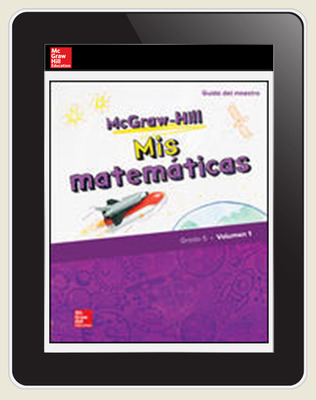McGraw-Hill My Math, Grade 5, Spanish Teacher Center 6 Year Subscription