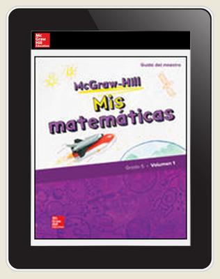 McGraw-Hill My Math, Grade 5, Spanish Teacher Center 1 Year Subscription