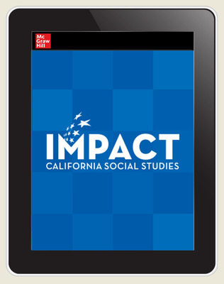 IMPACT: California, Grade 5, Online Student Center, 8-year subscription, US History: Making a New Nation