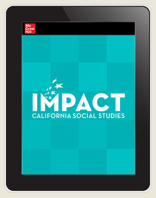 IMPACT: California, Grade 2, Online Student Center, 8-year subscription, People Who Make a Difference