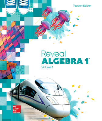 Reveal Algebra 1, Teacher Edition, Volume 1