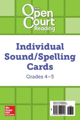 OCR Grades 4-5 Sound/Spelling Individual Cards
