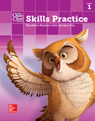Open Court Reading Grade 4, Skills Practice BLM with Answer Key, Book 1