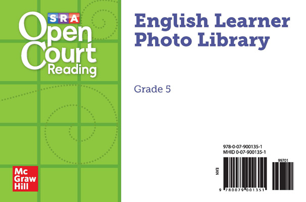 Open Court Reading Grade 5, English Learner Photo Cards