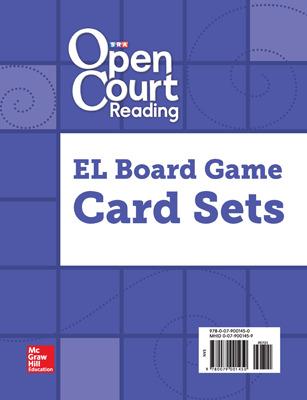 Open Court Reading, Grades K-5, English Language Game Cards
