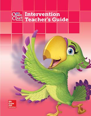 Open Court Reading Grade K Intervention Teacher Guide