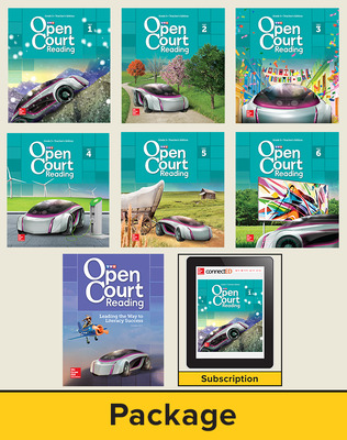 Open Court Reading Grade 5, Digital and Print Teacher Edition Bundle, 6-year subscription