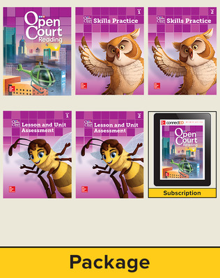 Open Court Reading Grade 4 Student Comprehensive Print Bundle with 6 Year Digital Subscription