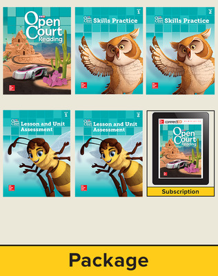 Open Court Reading Grade 5 Student Comprehensive Print Bundle with 6 Year Digital Subscription