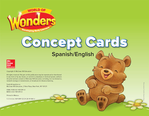 World of Wonders Concept Cards Bilingual Edition