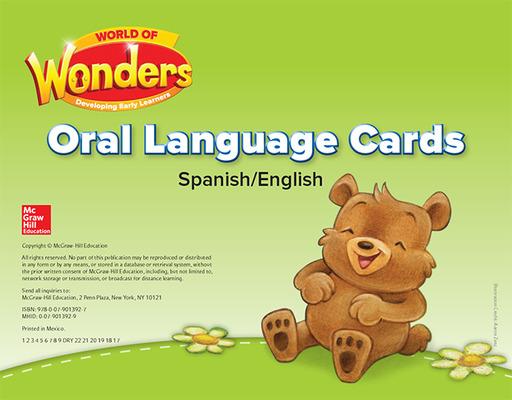 World of Wonders Oral Language Cards Bilingual Edition