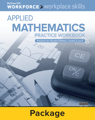 Workplace Skills Practice Workbook, Levels B/C, Applied Mathematics, 10-pack