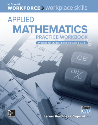 Workplace Skills Practice Workbook, Levels C/D, Applied Mathematics, 10-pack