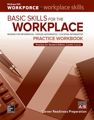 Workplace Skills Practice Workbook, Basic Skills for the Workplace, 10-pack