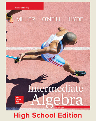 Intermediate Algebra (Miller) cover