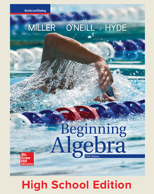 Beginning Algebra (Miller) cover