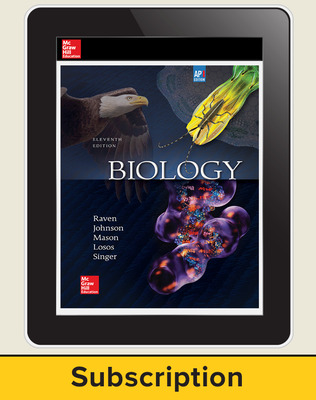 Raven, Biology, 2017, 11e (AP Edition) Digital Student Subscription, 6-year subscription