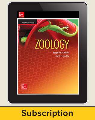Miller, Zoology, 2016, 10e, Online Student Edition, 6-year subscription