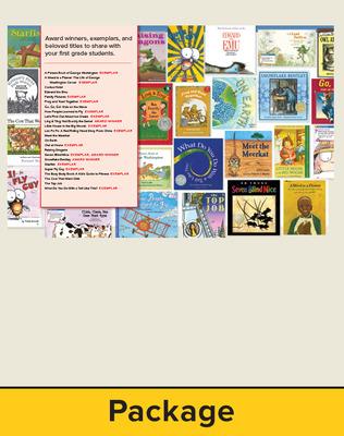 Wonders Grade 1 Trade Book bundle 6 of 24 titles