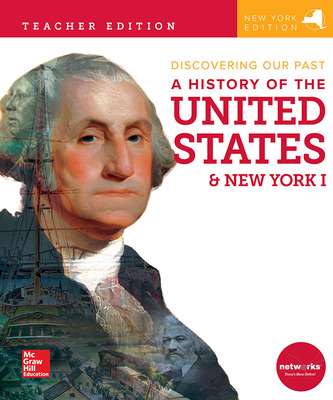 CUS New York Discovering Our Past: History of the United States and New York I, Grade 7, Teacher Edition C2TEH